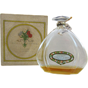 Douce France Vintage Perfume Bottle - Lubin - Julien Viard - Book Piece