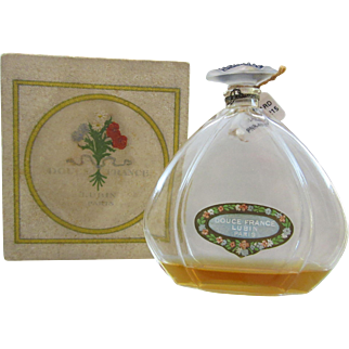 Douce France Vintage Perfume Bottle - Lubin - Julien Viard - Book Piece