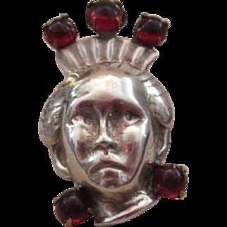 Vintage Sterling Figural Pin