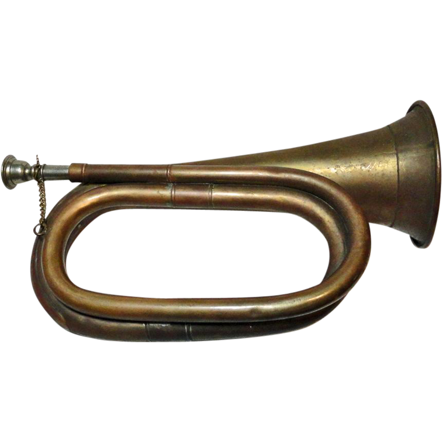 Military Bugle SOLD on Ruby Lane