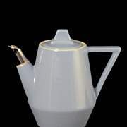 Hall National Individual Coffee Pot or Teapot with Metal Tip Spout  #1703