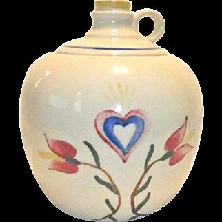 Shawnee Pennsylvania Dutch Jug Cookie Jar  Marked USA