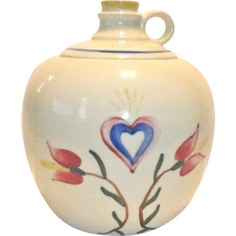 Shawnee Pennsylvania Dutch Jug Cookie Jar  Marked USA