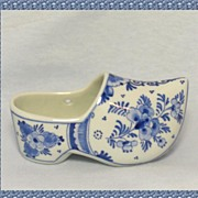 Royal Delft De Porceleyne Fles Shoe (Klomp)