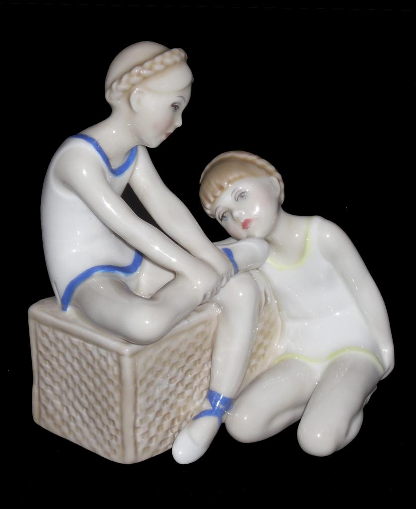 Royal Doulton Reflections Ballet Class Figurine HN3134