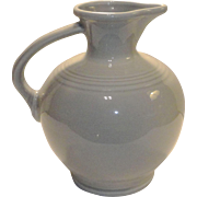 Homer Laughlin Fiesta Pearl Gray Carafe Pitcher