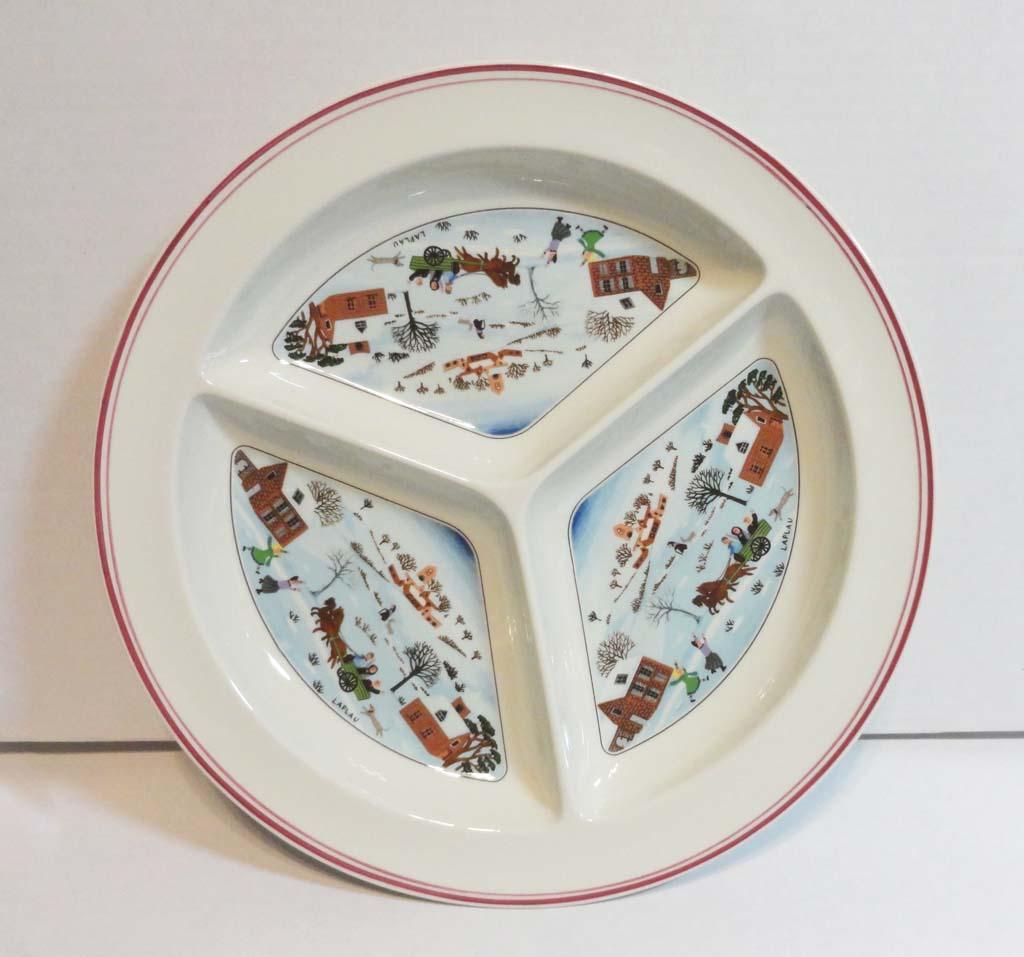 Villeroy and Boch Naif Christmas Divided Platter Tray in Original ...