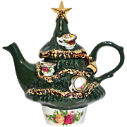 Royal Albert Christmas Tree Teapot  Small