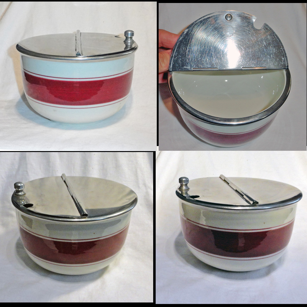 Sugar bowls with lids - Roll Over Large Image To Magnify Click Large Image To Zoom