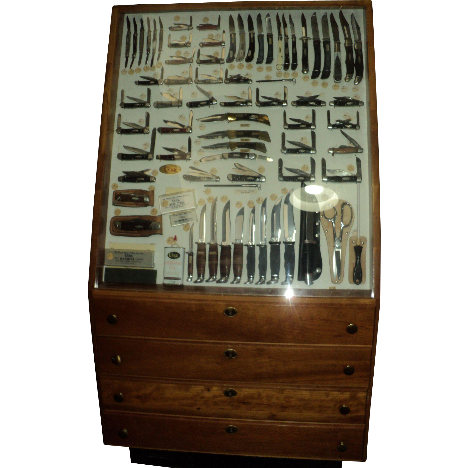 Vintage Case XX Knife Store Display Collection