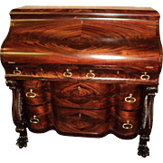 Antique Mahogany Federal Empire Desk