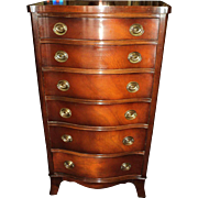 Mahogany Lingerie Chest of Drawers by Drexel