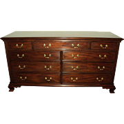 Henkel Harris Mahogany Triple Dresser