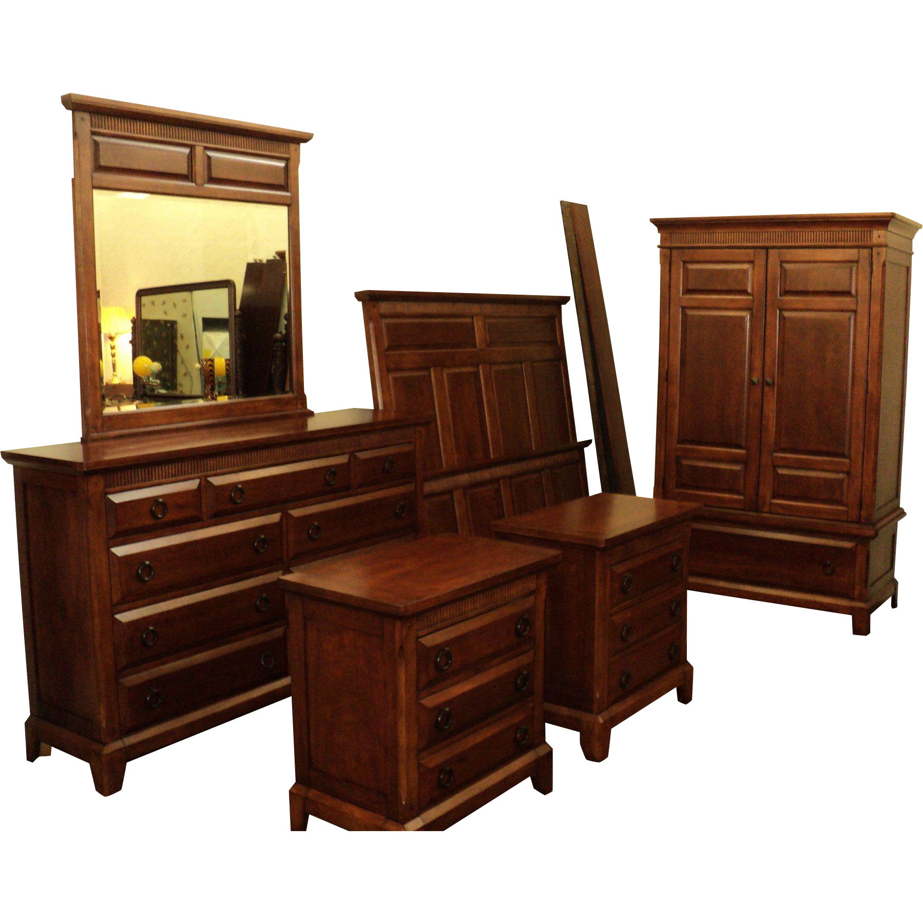 6 Piece Cherry Bedroom Set, by Davis Int\'l from ...