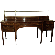 Antique Mahogany Sideboard Buffet by Baker Furniture