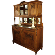 French Buffet/Sideboard with Marble Top, ON SALE!
