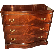 Three Drawer Chippendale Style  Mahogany Server/Dresser, circa 1950's