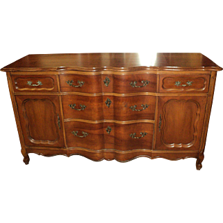 Cherry French Provincial Buffet/Sideboard circa 1950's