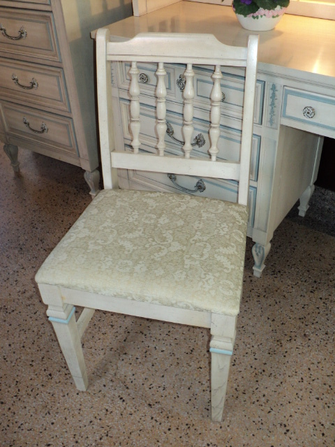 French Country Painted Dresser Lingerie Chest Desk Hutch By Sold On Ruby Lane