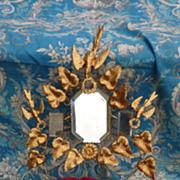 French faded grandeur ormolu wedding cushion display stand  DOVES