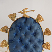 Delicious upright blue ormolu wedding display stand ROSEBUDS