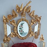 French ormolu wedding cushion display stand Roses