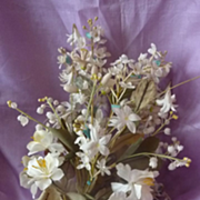 Delicious French bride's wedding bouquet lily of the valley circa 1900's