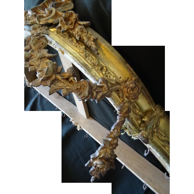 faded grandeur gilt brass bronze french bed corona canopy ciel de sold on ruby lane. Black Bedroom Furniture Sets. Home Design Ideas