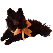 """Clochette"" adorable French curly coated boudoir pajama dog doll companion"