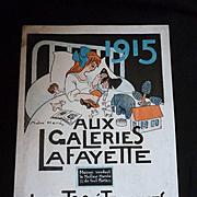 Interesting French Jouet & Etrennes catalogue : Aux Galeries LaFayette : 1915