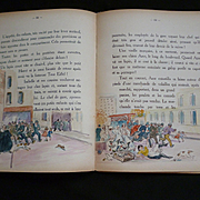 Utterly charming French childrens book : Les aventures de Pompon : 1937 : limited edition : signed by author
