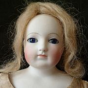 Attic find...... pretty Blampoix  B3S French fashion lady doll dans son jus