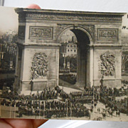 Arc de Triomphe Paris France Bastille Day WWI Victory Celebration