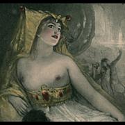 VENUS from Wagner's Tannhäuser Opera Postcard by Hans Schlimarski Artist Signed
