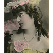 Reutlinger Real Photo Postcard of Ballet Stage Star Marconnier