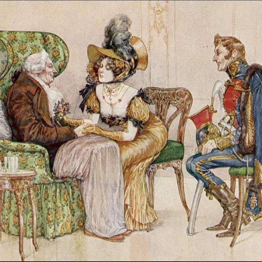 Carl Fischer-Koystrand Artist Signed Postcard Franked 1915