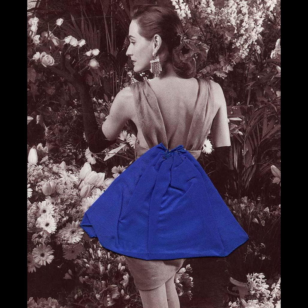 Vintage 1988 3-D Invitation to Haute Couture Fashion Event in Paris