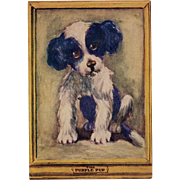 Colegrove's Purple Pup Iconic Seattle Restaurant Unused Postcard Circa 1930s