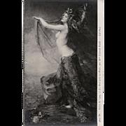 Salon de Paris 1909 Night Throws its Veils by Consuelo Fould