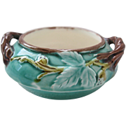 Wedgwood Majolica Salt Or Individual Sugar