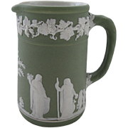 English Wedgwood Green Cream Pitcher