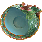Minton Majolica Chestnut Server