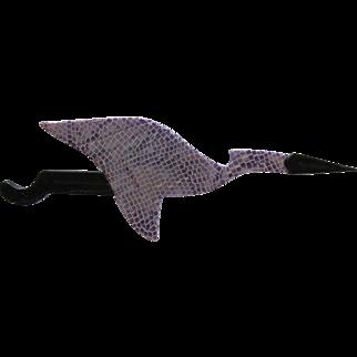 Stork Bird Pin By French Designer Lea Stein