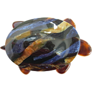 Turtle Pin By French Designer Lea Stein
