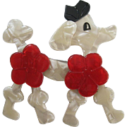 Koket The Poodle Pin By French Designer Lea Stein