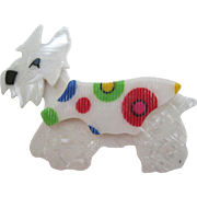 Kimdoo The Terrier Westie Westy Scottie Dog Pin By French Designer Lea Stein