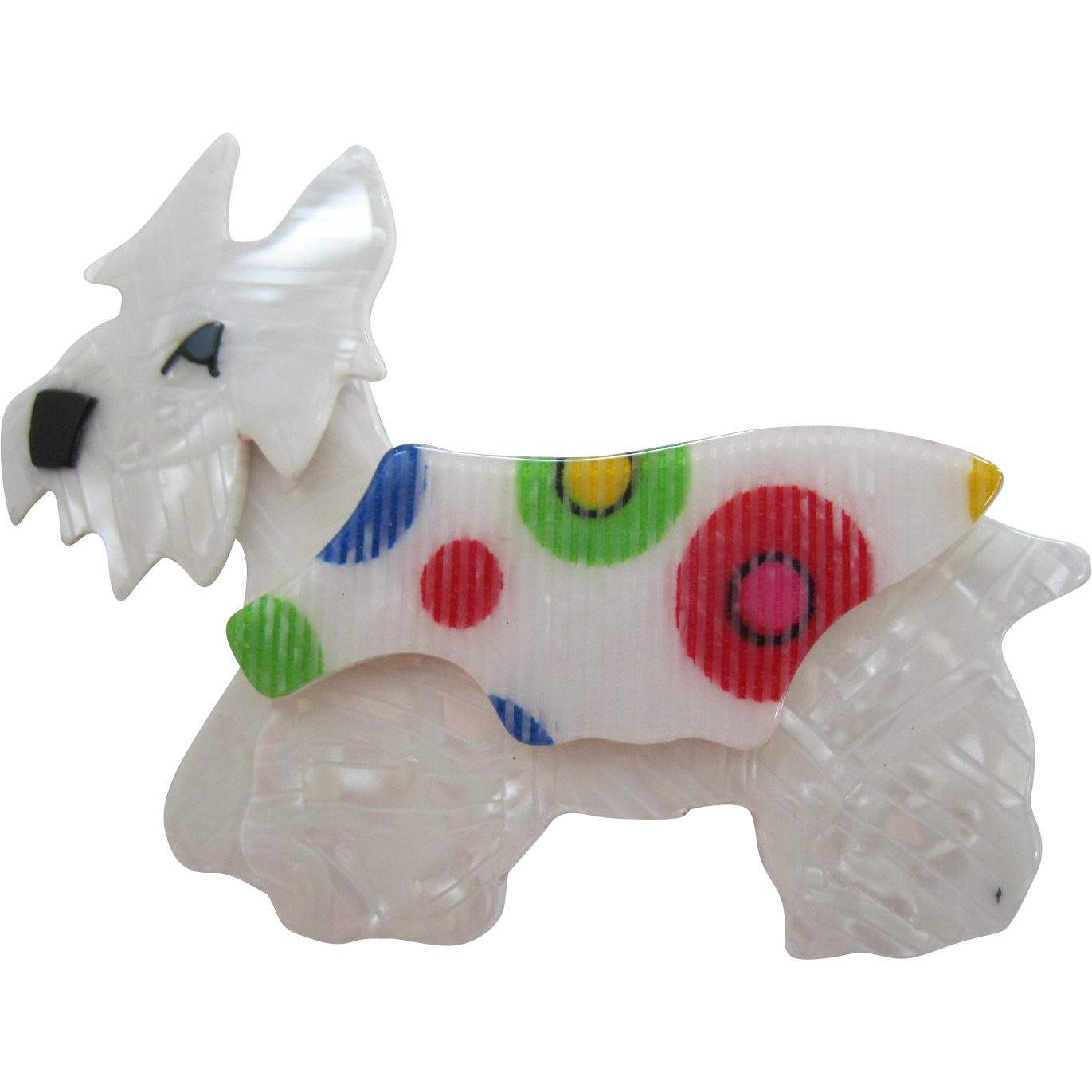 Kimdoo The Terrier Westie Westy Scottie Dog Pin By French Designer Lea Stein