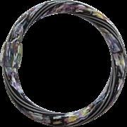 Bangle Bracelet By French Designer Lea Stein