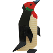 Penguin Pin by French Designer Lea Stein