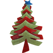 Christmas Tree Pin By French Designer Lea Stein
